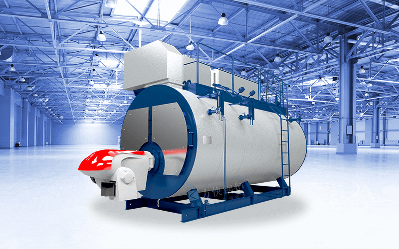 Gas or Oil Fired Integrated Steam Boiler